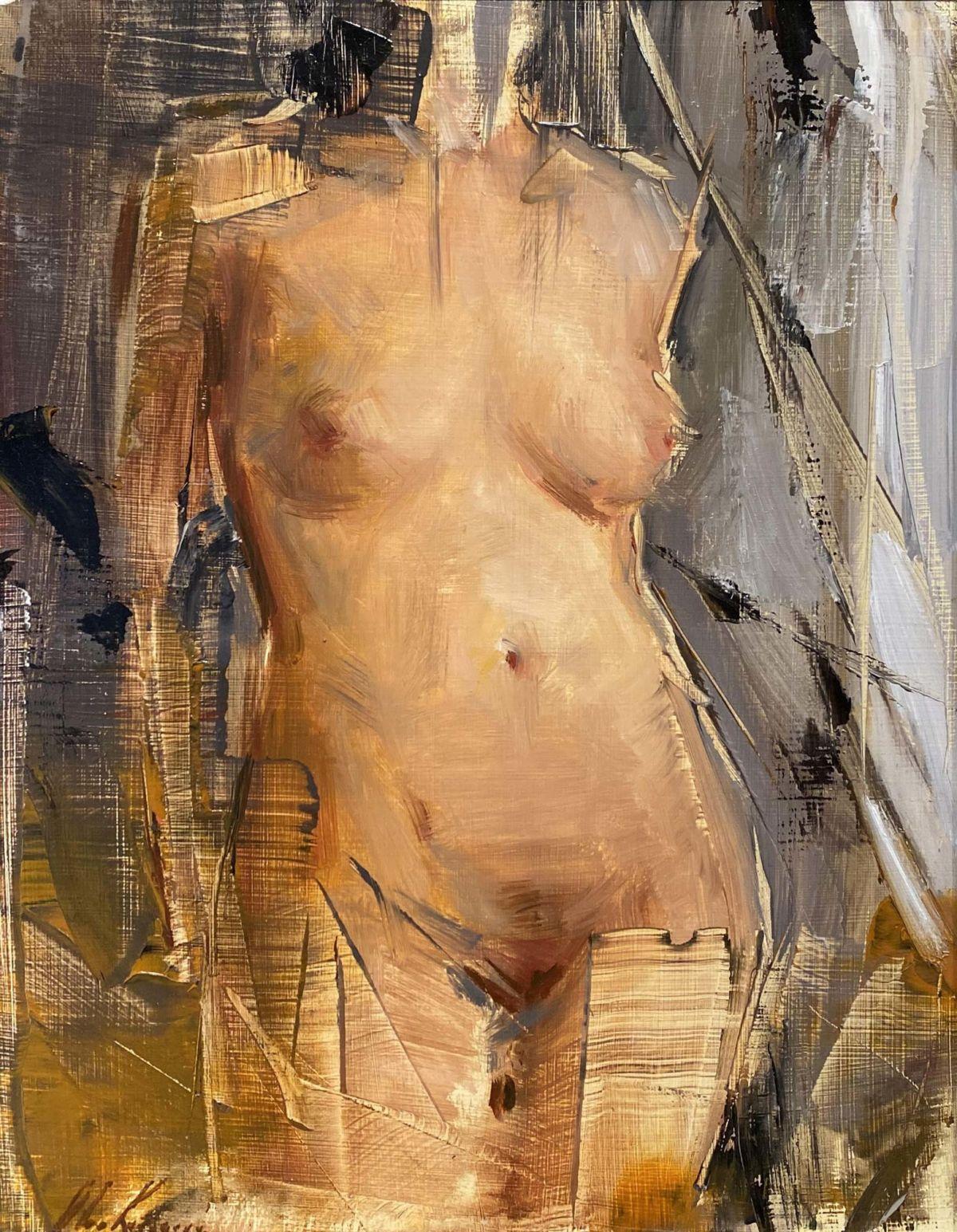 olga krimon nude torso