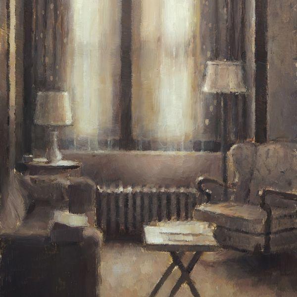 Nicolas Martin – Le Salon – oil on panel – 30 x 23 cm – sold