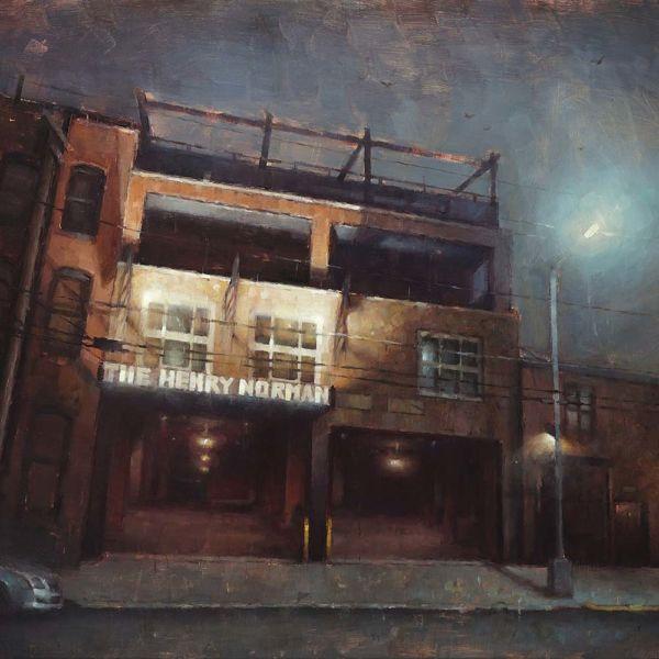 Nicolas Martin – The Henry Norman – huile sur toile – 46 x 61 cm – 3000 €