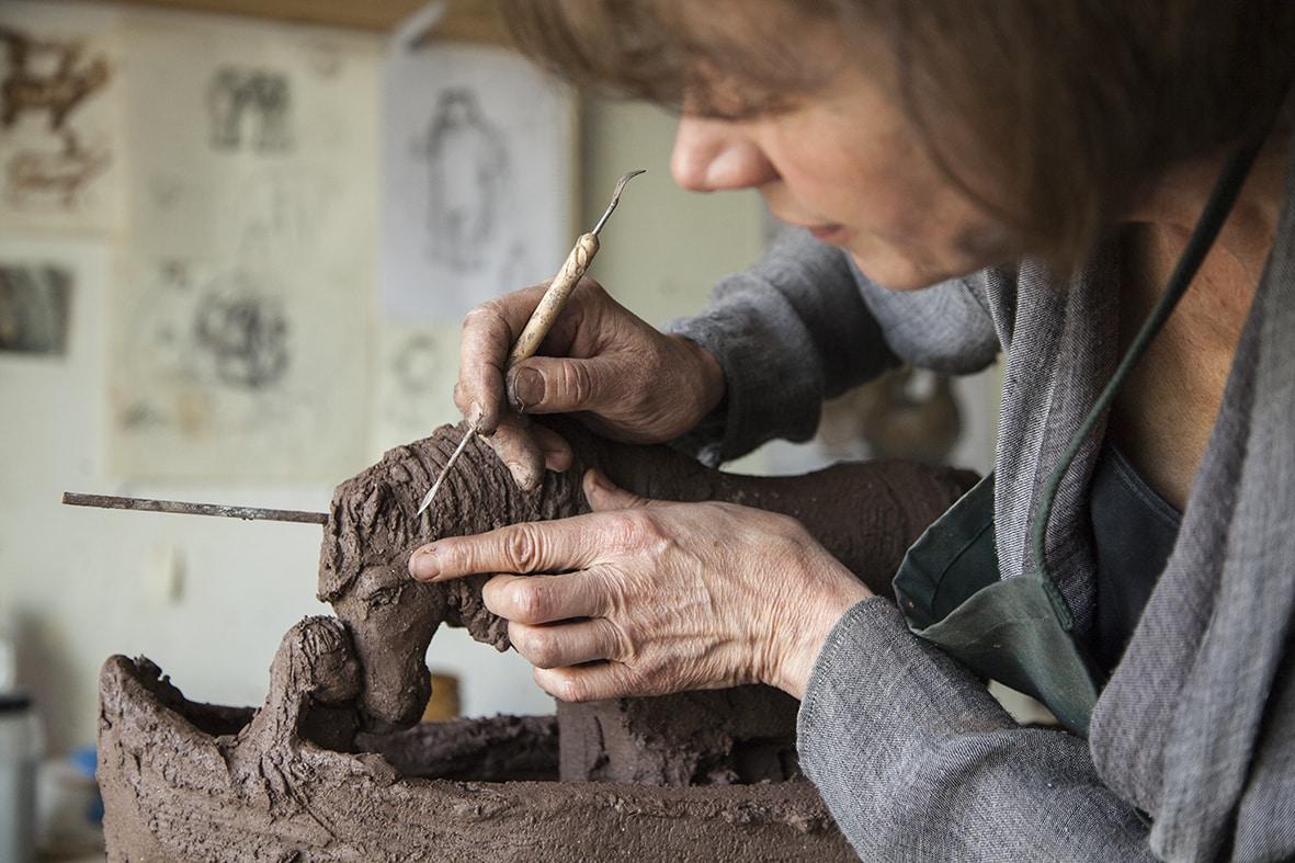 artiste sculpture biarritz sophie verger - 2