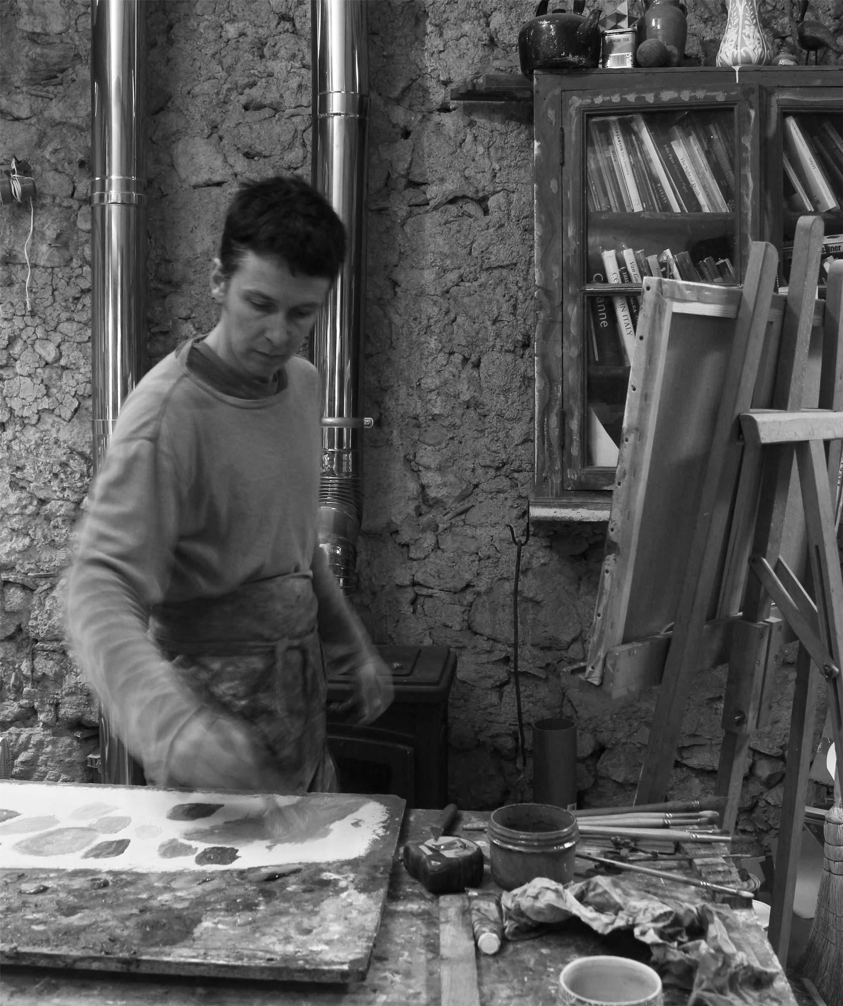 Ben Brotherton atelier