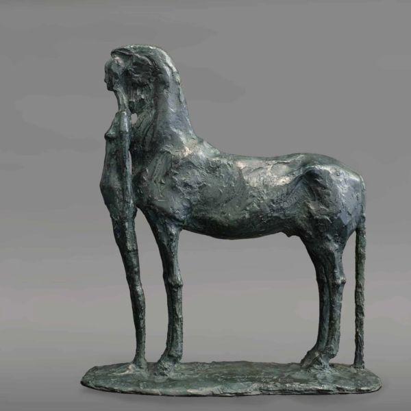 Chengdong Guo – Equilibre I – bronze 8/8 – 29 x 10 x 32 cm