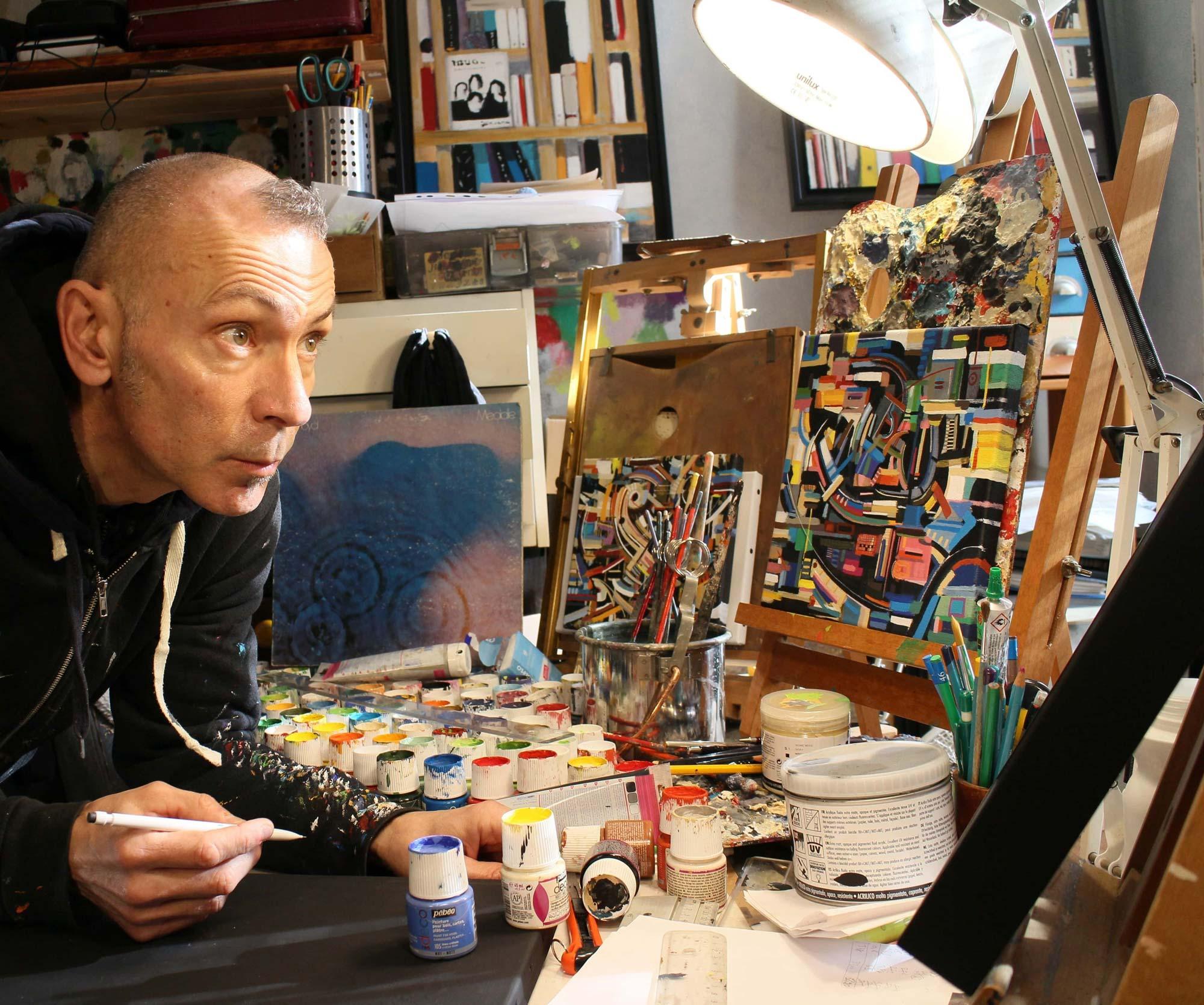 Didier Delgado atelier