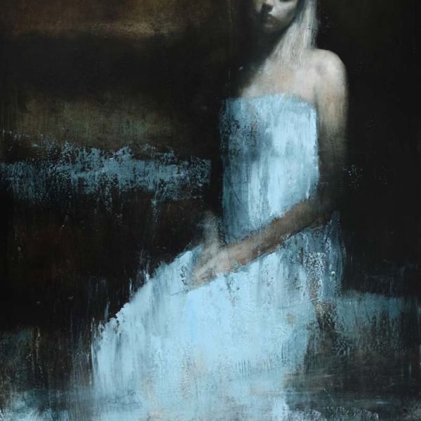 Mark Demsteader – Moorland 3 – oil on canvas – 88 x 115 cm – 22000 €