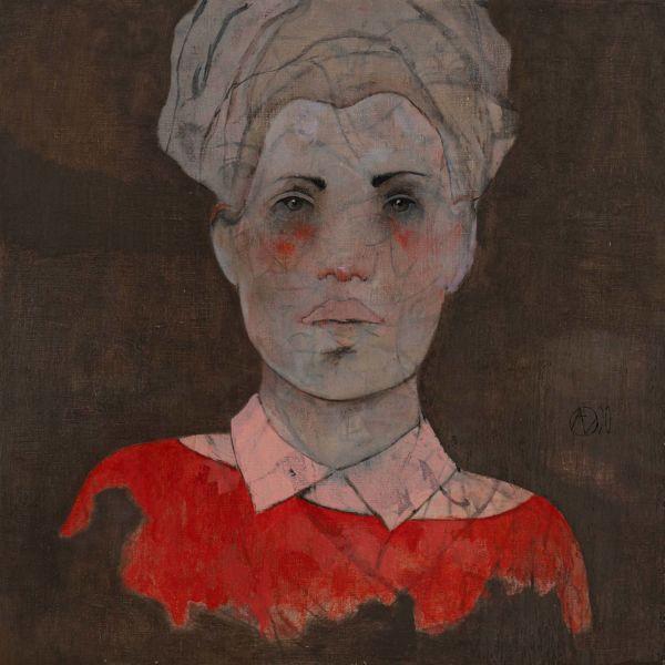 André Lundquist – A Fleur de toile 11 – huile sur toile – 45 x 45 cm – 3000 €