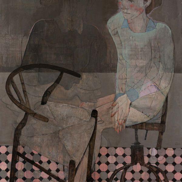 André Lundquist – A Fleur de toile 16 – huile sur toile – 150 x 120 cm – 7500 €