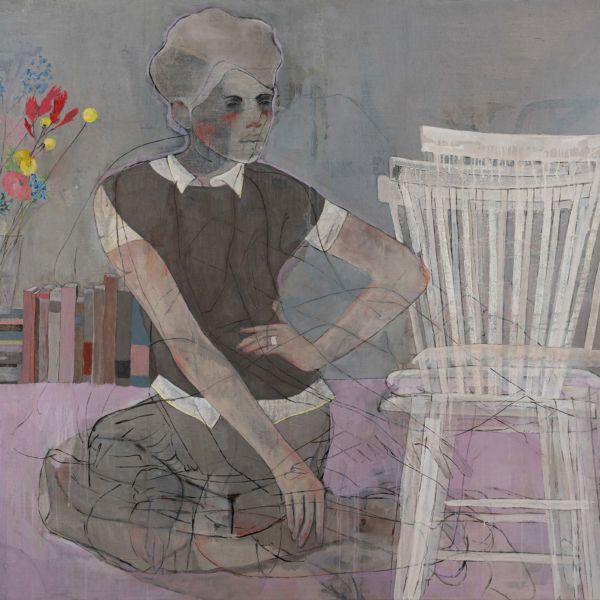 André Lundquist – A Fleur de toile 8 – huile sur toile – 120 x 150 cm – 7500 €