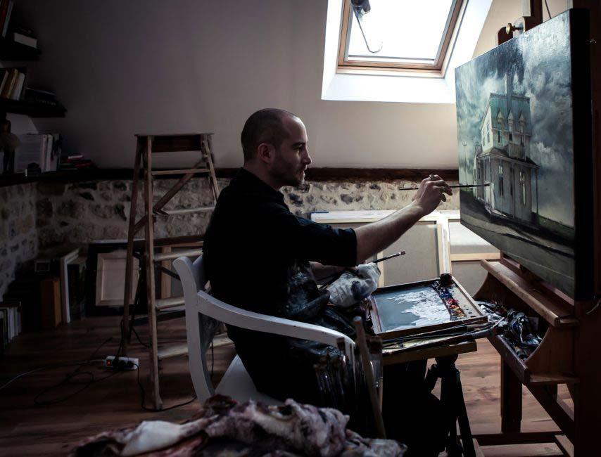 Nicolas Martin atelier matt guegan