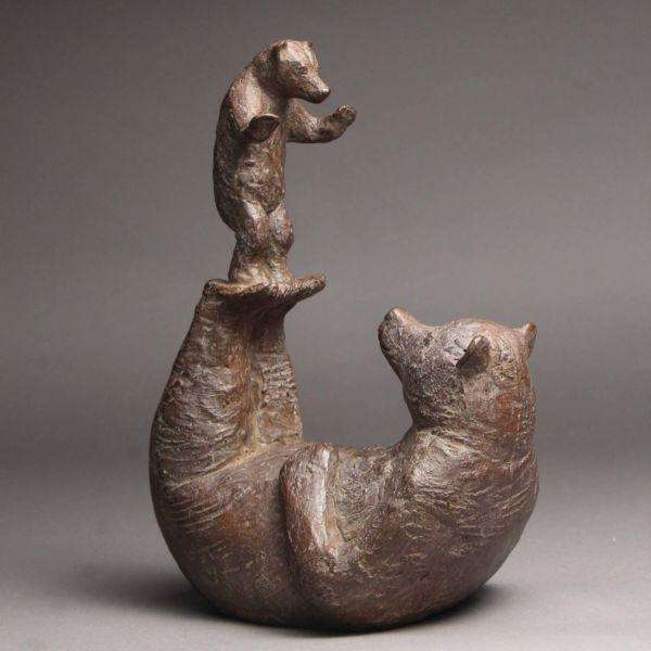 Sophie Verger – Entraînement – Bronze – 2017 – 26 x 18 x 13,5 cm – 2300 €