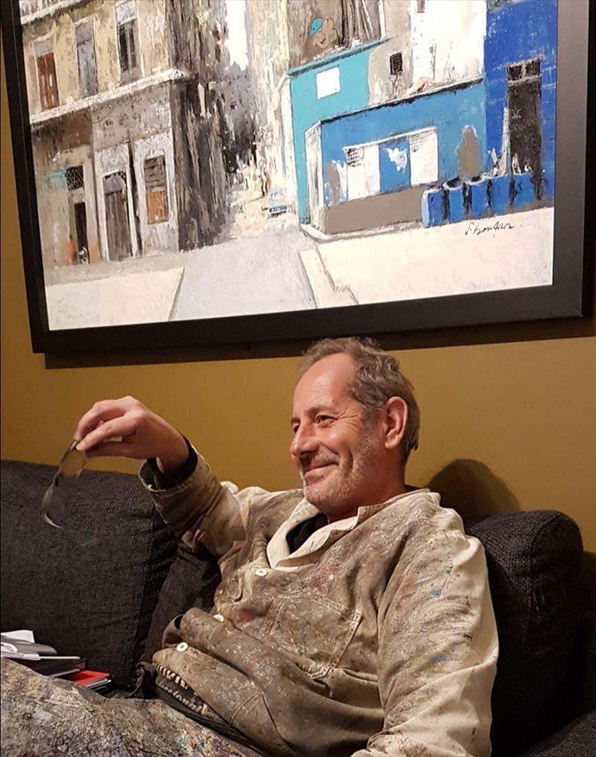 Thomas Bossard atelier portrait