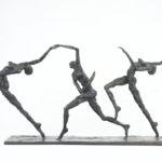 Nancy Vuylsteke – Arc en ciel – bronze – 17 x 47 x 28 cm – 4900 €