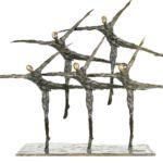 Nancy Vuylsteke – Milky Way – bronze – 62 x 20 x 46 cm – 6500 €