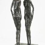 Nancy Vuylsteke – Résonnance – bronze – 17 x 16 x 37 cm – 3500 €