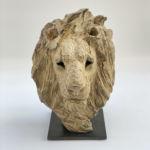 Isabelle Carabantes - Tête de Lion - bronze - 30 x 22 x 22 cm - 4000 €