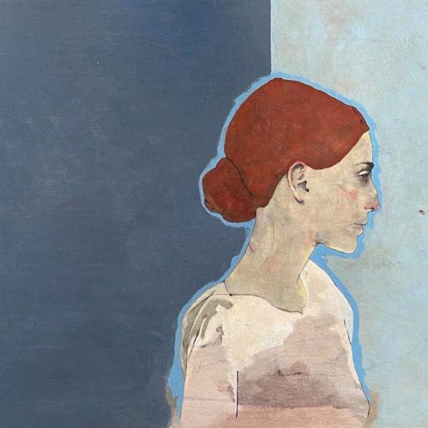 André Lundquist - Lettre en Avril VI - oil on canvas - 80 x 100 cm - 4200 €