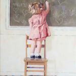Luc Lavenseau - Maman - huile sur toile - 46 x 33 cm - 1500 €