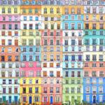 StepArt - Paris, rue Crémieux - technique mixte - 60 x 60 cm - 1500 €