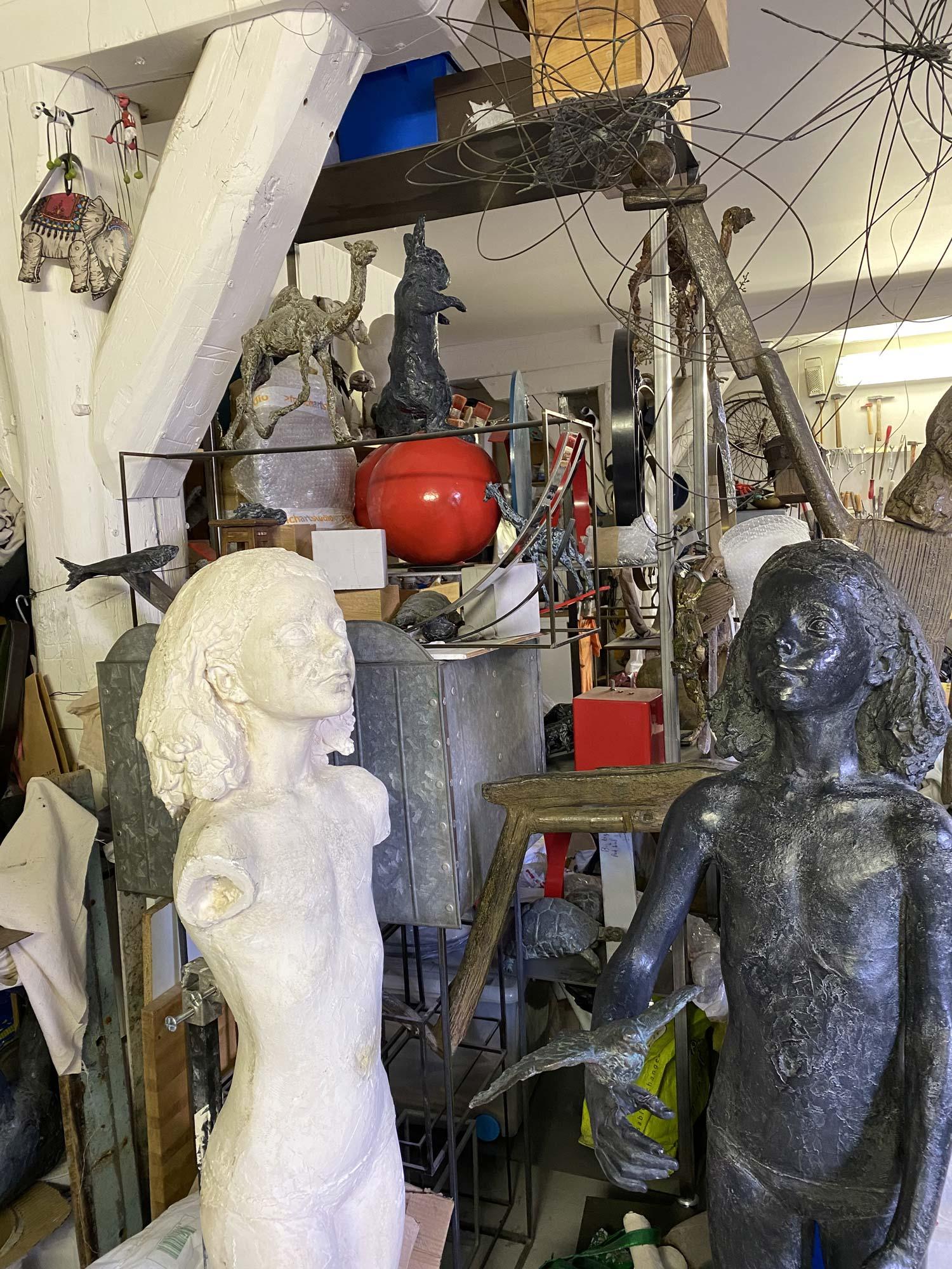 Charlotte Champion atelier sculpture - 2