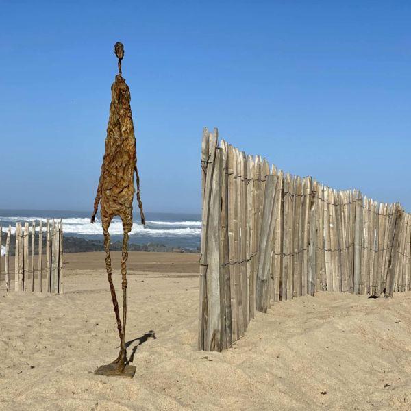 Christophe Rouleaud – Le promeneur – Bronze – 130 x 23 x 30 cm – 6200 €