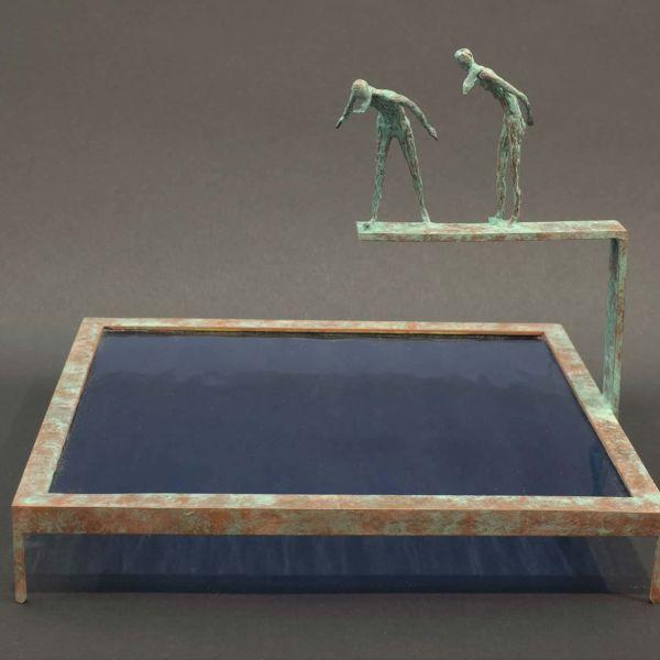 Claire Fontana – Cadre liquide – 1/8 – 27 x 25 x 15 – 1400 €