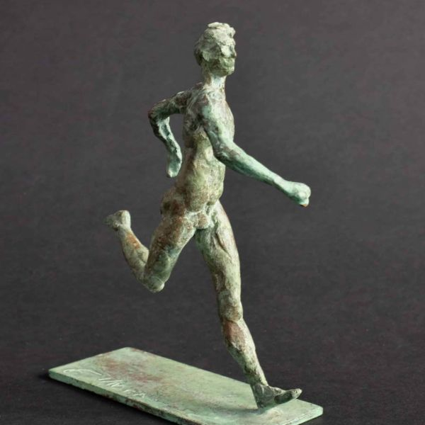 Claire Fontana – Marathonien – bronze I/V EA – 10 x 14 x 4 cm – 800 €