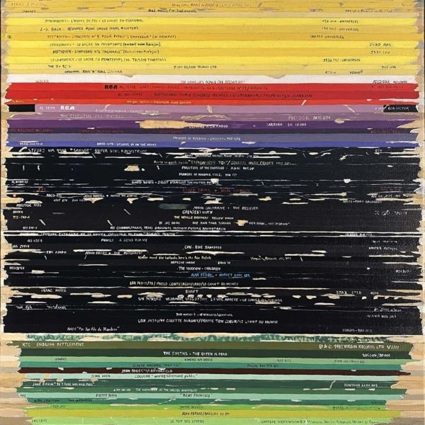 Didier Delgado – 1949, d'après Rothko – acrylique sur toile – 61 x 50 cm – 1300 €