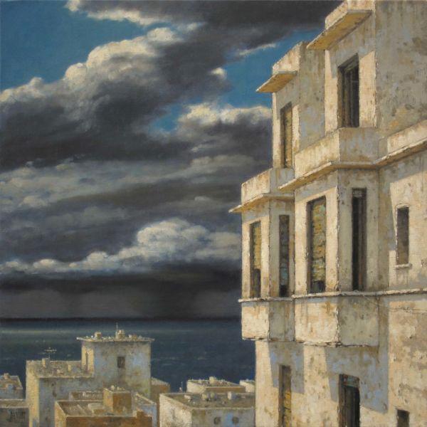Christian Benoist – Climat – huile sur toile – 50×50 cm – 3600 €