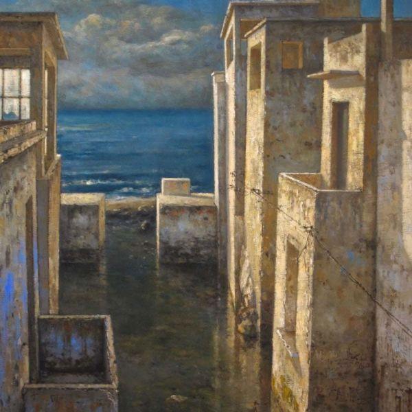 Christian Benoist – Océanique – Huile sur toile – 81 x 54 cm – 4800 €