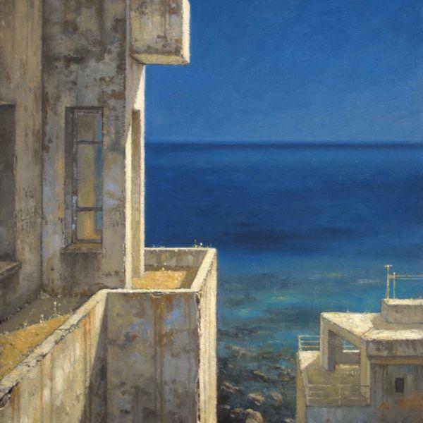 Christian Benoist – Résidences oubliées – huile sur toile – 46 x 38 cm – 3200 €