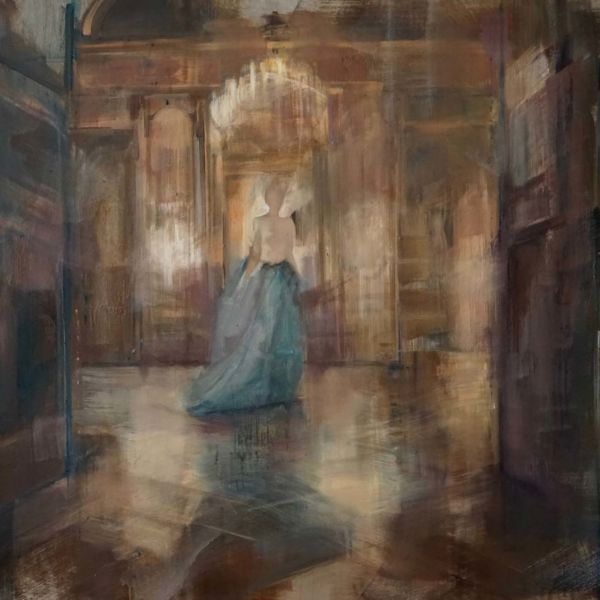 Nushka – Les Salons de la Préfecture – huile sur toile – 100 x 150 cm – 6100 €