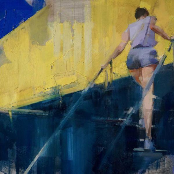 Nushka – Résiliance – huile sur toile – 100 x 150 cm – 6100 €