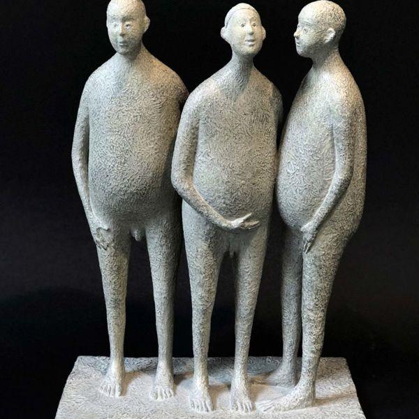 Lucette Brandy – Corps et âmes – bronze 3/8 – 22 x 14 x 30 cm – 3200 €