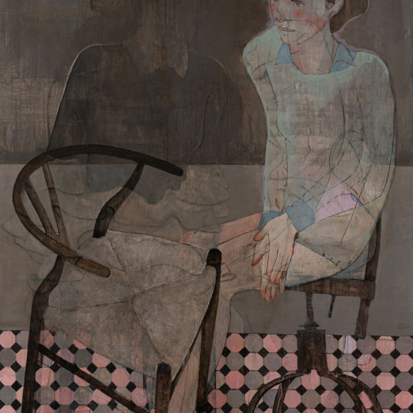 André Lundquist - A Fleur de toile 16 - huile sur toile - 150 x 120 cm - 7500 €