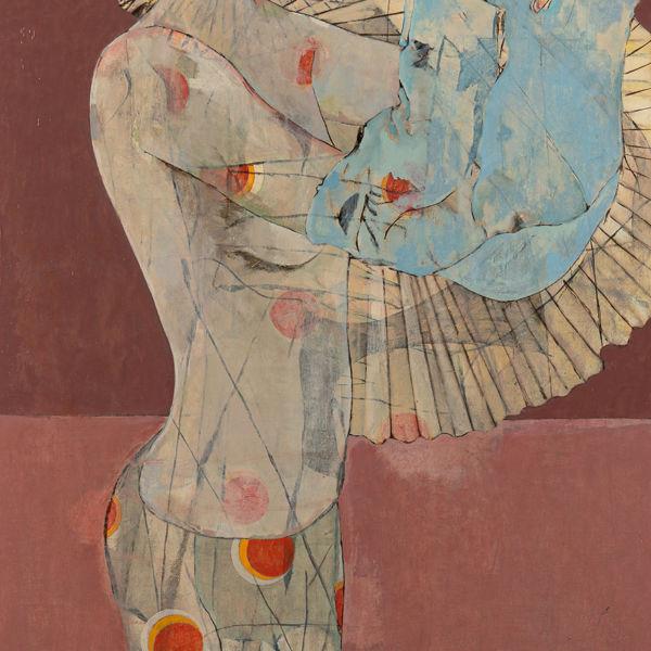 André Lundquist - A Fleur de toile 17 - huile sur toile - 150 x 80 cm - 5200 €.jpeg