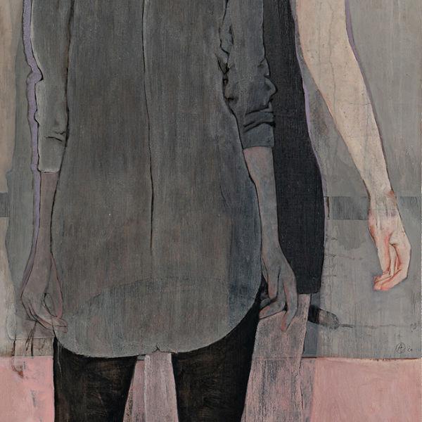André Lundquist - A Fleur de toile 6 - huile sur toile - 200 x 80 cm - 6500 €.jpeg