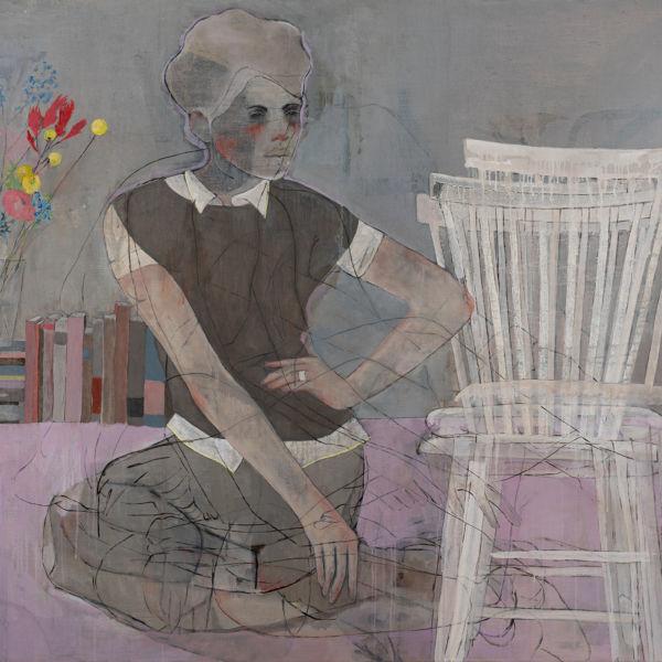 André Lundquist - A Fleur de toile 8 - huile sur toile - 120 x 150 cm - 7500 €