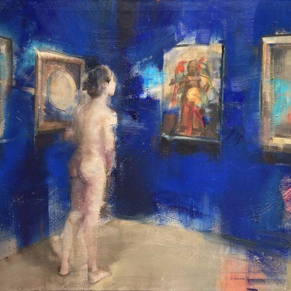 Nushka – Point de vue, Musée des BA III – huile sur toile – 100 x 150 cm – 6100 €