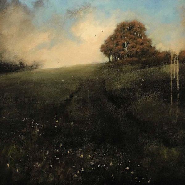 Robert Wellings – Autumn Rise – huile sur toile – 61 x 76 cm – 3200 €