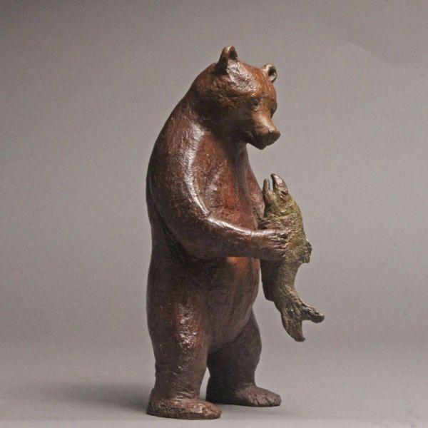 Sophie Verger – Le festin – Bronze 6:8 – 26,5 x 14 x 12 cm – 2200 €