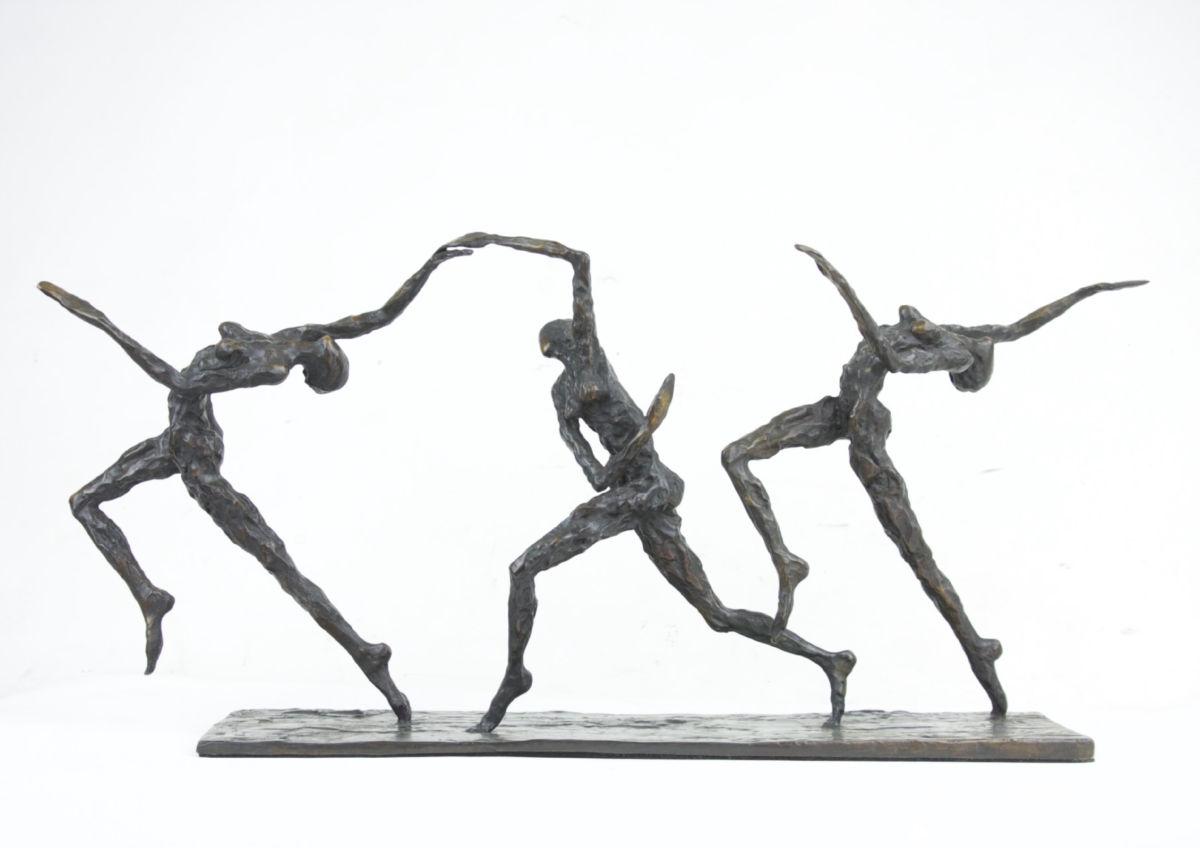 Nancy Vuylsteke - Arc en ciel - bronze - 17 x 47 x 28 cm - 4900 €
