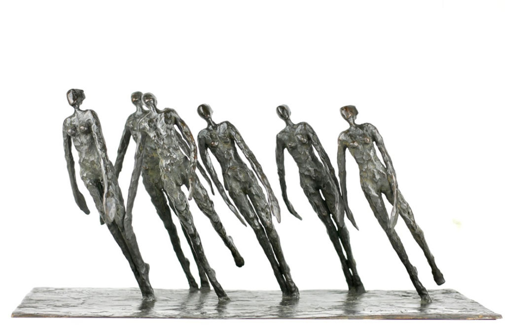 Nancy Vuylsteke - Embrun - bronze - 26 x 59 x 32 cm - 6900 €
