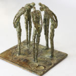 Nancy Vuylsteke - Secret - bronze - 14 x 17 x 16 cm - 3400 €