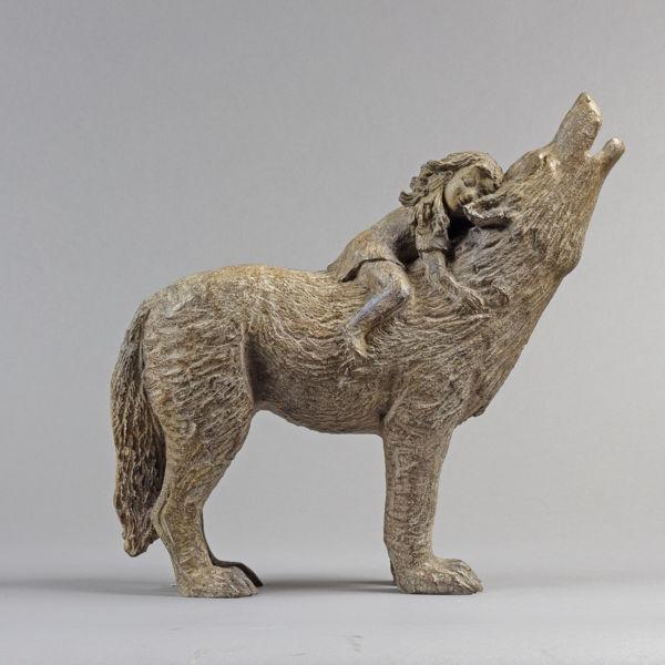 Sophie Verger - Le rêve - Bronze - 44 x 40 x 16 cm - Fonderie Harze - 3400€