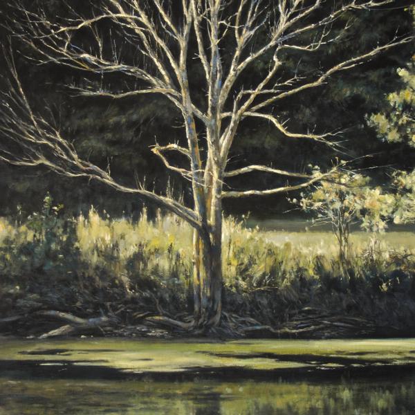 Christian Benoist - Ramure - huile sur toile - 92 x 73 cm - 5800 €