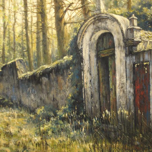Christian Benoist - Alcantara - huile sur toile - 50 x 61 cm - 3800 €