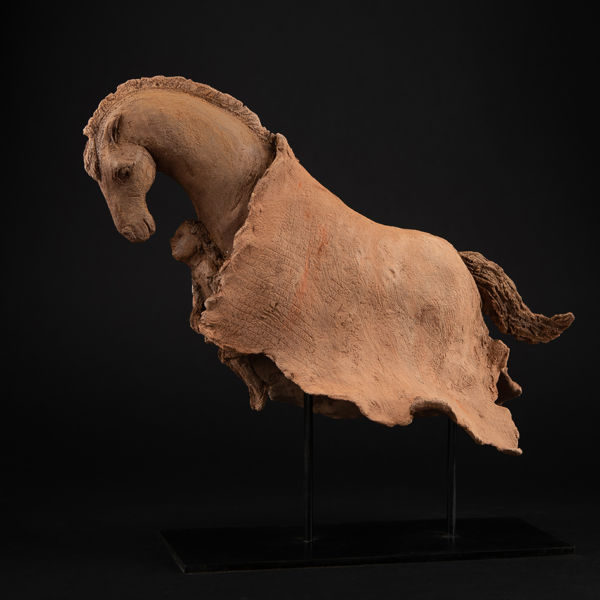 Sophie Verger - Voyage - bronze - 32 x 30 x 17 cm - 2900 €