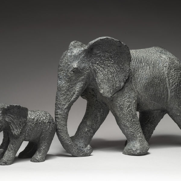 Sophie Verger - Avance my little one - Bronze - 29 x 60 x 17 cm - 4200 €