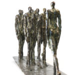 Nancy Vuylsteke de Laps - The way I liked - Bronze - 28 x 15 x 70 cm - 6900 €