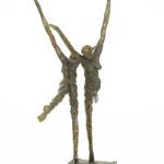Nancy Vuylsteke de Laps - Etincelles - Bronze - 40 x 38 x 20 cm - 3500 €