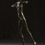 Adriano Ciarla - Nue - terre émaillée - 50 x 17 x 25 cm - 1200 €